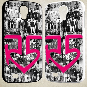 R5 Collage F0617 Samsung Galaxy S3 S4 S5 (Mini), Note 2 Note 3 Note 4, HTC One M7 M8 Cases