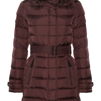 Burberry Brit - Quilted shell down jacket