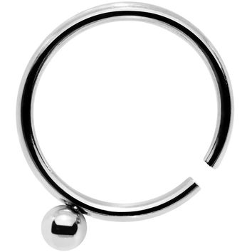 """20 Gauge 5/16"""" Stainless Steel Have a Ball Nose Hoop"""