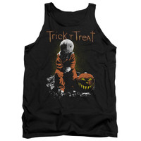 TRICK R TREAT/SITTING SAM - ADULT TANK - BLACK -