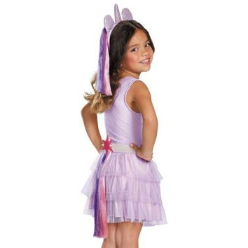 My Little Pony Costume Tail Kids Halloween Fancy Dress
