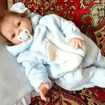 Reborn 55 cm boy baby doll handmade realistic child babies collectable like real