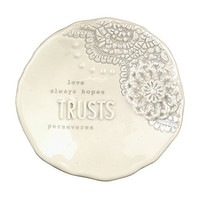 Inspired Living With Grace Trinket Dish (Trusts)
