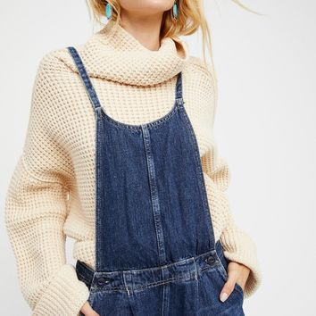 Free People Pleated Overall