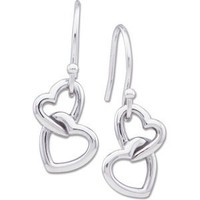 Fashion Heart Earring (Left Earring only) in Sterling Silver