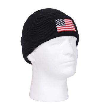 Rothco US Flag Embroidered Watch Cap