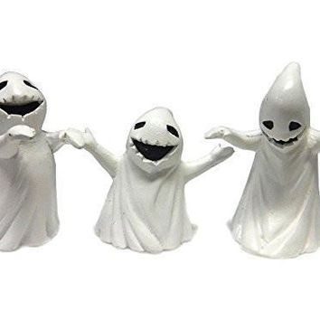 Fiddlehead Fairy Garden Set of 3 Ghosts