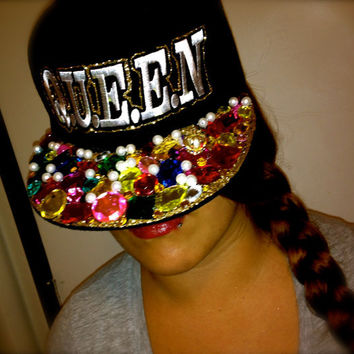 Q.U.E.E.N Fitted Hat