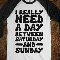 A Day Between Saturday And Sunday