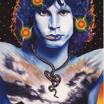 Jim Morrison Ride the Snake The Doors Poster 24x33