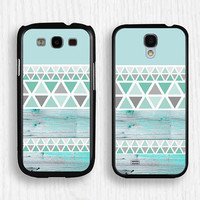 blue wood,blue geometry Samsung case,blue Note 3 case,art Note 2 case,Galaxy S3 case,Galaxy S4 case,Galaxy S5 case,blue geometry case,057