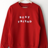 Best Friend Oversized Sweatshirt
