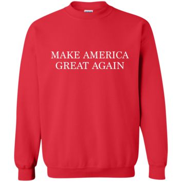 Make America Great Again G180 Gildan Crewneck Pullover Sweatshirt  8 oz.
