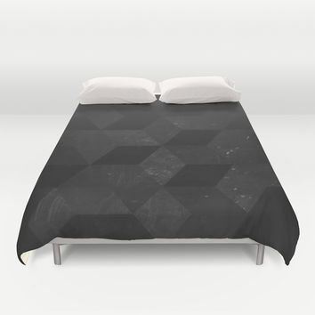 Fade to Black Duvet Cover by DuckyB (Brandi)