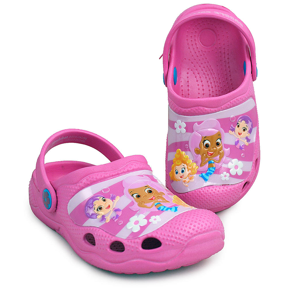 Bubble guppies clogs pink kid s size from kimmyshop com