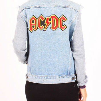 Denim vest - ACDC by MDKN - Denim jackets - Jackets & Outerwear - Women - Modekungen