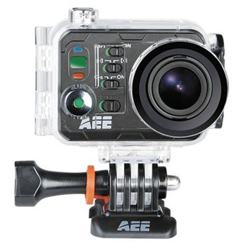 AEE Magicam S71 Ultra HD 4K Sports Action Waterproof Camera w/WiFi, Remote, mini-HDMI, microSD Slot & Case