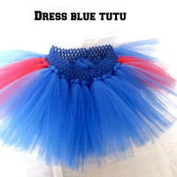 Girls dress blue tutu perfect for many occasions.