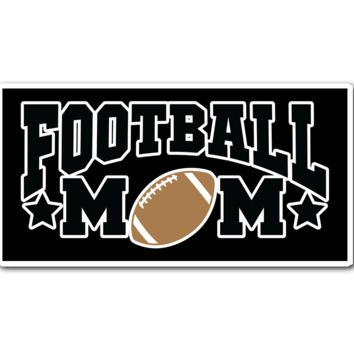 Football Mom Vinyl Sticker (Free Shipping)