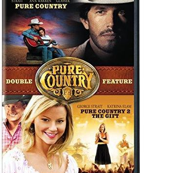 GEORGE STRAIT & LESSLEY ANN WARREN - Pure Country 2: The Gift/ Pure Country