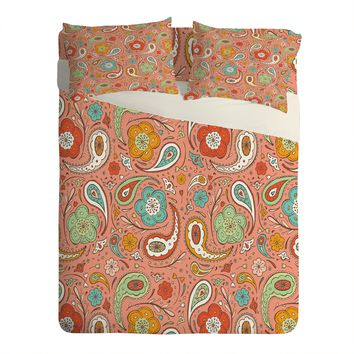 Heather Dutton Adora Paisley Sheet Set Lightweight