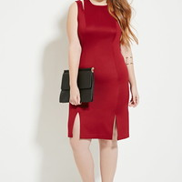 Plus-Size Two-Strap Dress | Forever 21 PLUS - 2000164346