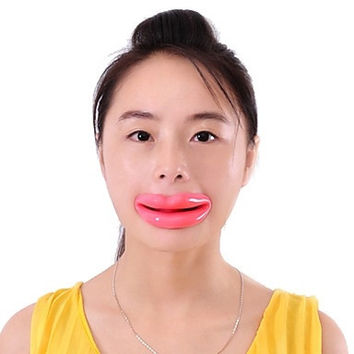 Face Exerciser Lip Trainer Oral Exerciser Face Yoga Face Care Slimmer Exercise Mouthpiece = 1932029892