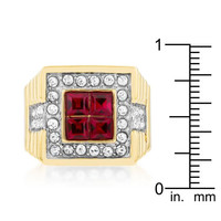 True Blood Crystal Ring, size : 10