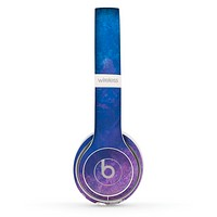 The Blue & Purple Pastel Skin Set for the Beats by Dre Solo 2 Wireless Headphones