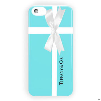 Tiffany Blue Box Inspired Design Cool For iPhone 5 / 5S / 5C Case