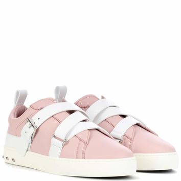 Valentino Garavani Rockstud leather sneakers