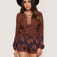 Red City Romper