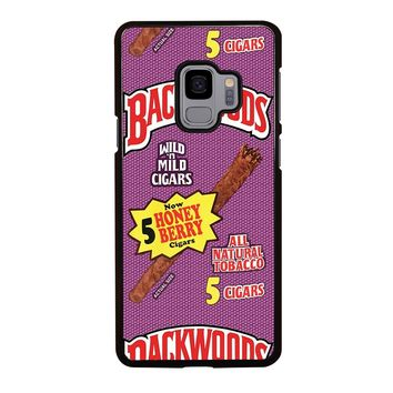 ONLY BACKWOODS CIGARS Samsung Galaxy S9 Case