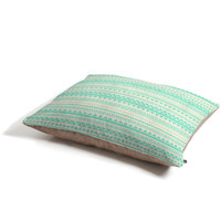 Allyson Johnson Mint Tribal Pet Bed