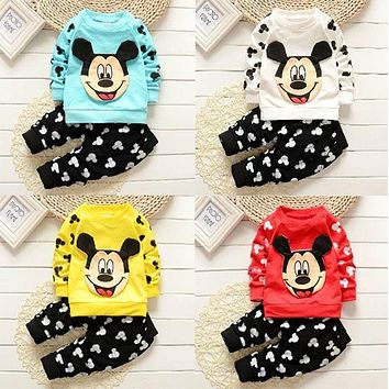 style boys clothing sets children spring autumn fashion cartoon character kids casual vest coat jacket T-shirt pants 2 pcs sport
