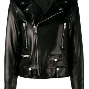 CREYONJF Saint Laurent Classic Leather Biker Jacket - Farfetch
