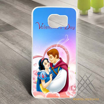 Disney Happy Valentines Day Princess Custom case for Samsung Galaxy