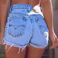 High Waist Vintage Levi Shorts (ALL SIZES)