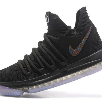 Nike Zoom KD10   Kevin Durant Ⅹ Black   Basketball Shoes