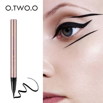 O.TWO.O 1PC NEW Beauty Cat Style Black Long-lasting Waterproof Liquid Eyeliner Eye Liner Pen Pencil Makeup Cosmetic Tool