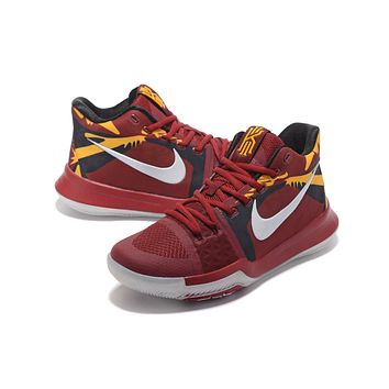 Nike Kyrie Irving 3 Wine Red Basketball Shoe