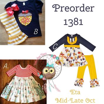 Fall Upon Winter Collection! Preorder 1381 **ETA Mid-Late October**