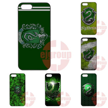 Cell Bags House Slytherin Harry Potter Create For Galaxy Core 4G Alpha Mega 2 6.3 Grand Prime S6 edge Plus Ace4 G313h G357