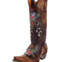 Old Gringo Bonnie Chocolate Brass Boots L649-1
