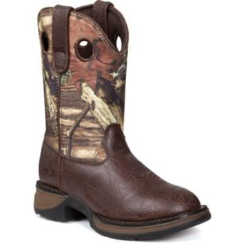 Lil Durango Boy's 8 in. Pull-On Camo Boot