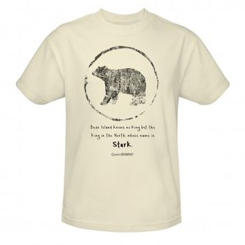 Game of Thrones Bear Island Knows No King T-Shirt