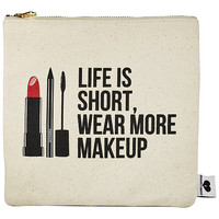 """SEPHORA COLLECTION Breakups To Makeup Bag (8.5"""" H x 8.75"""" W"""