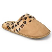 Journee Collection Women's Cheetah Print Slippers