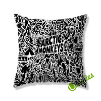 Artic Monkeys (2) Square Pillow Cover