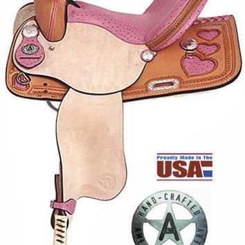 American No. 845H The Heart Racer. 13,14,15,16 QH Bars [No. 845 H] - $765.00 : Red Dot Horse Equip. Co. Western Saddles and Tack, Outback Coat and Hat Store, Free Shipping USA